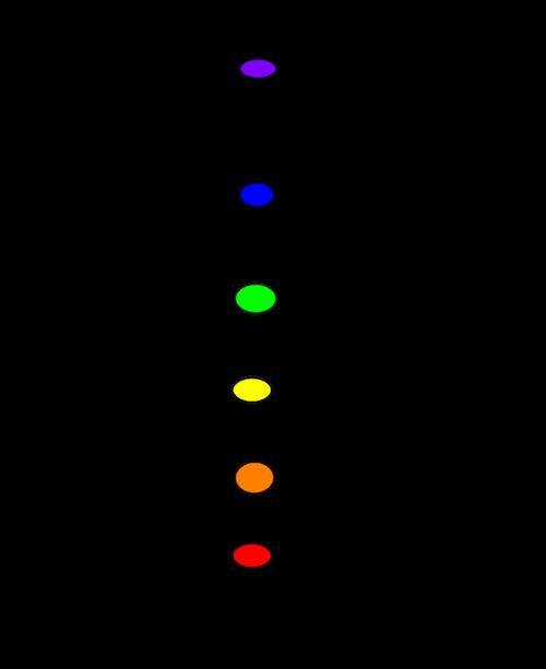 chakras drawing